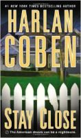 Harlan Coben-Stay Close- Audio Book on CD