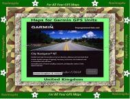 Garmin United Kingdom & Ireland Maps on DVD