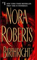Nora Roberts - Birthright-MP3 Audio Book on CD