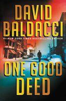 One Good Deed-by David Baldacci-Audio Book-MP3 on CD